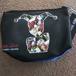 Handbags - Harley quinn and the joker makeup bag